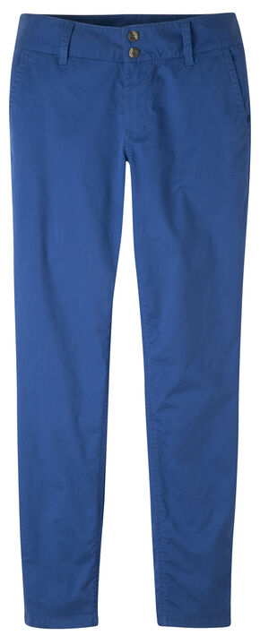Mountain Khakis Women's Sadie Skinny Chino Pants - Petite, Blue, hi-res