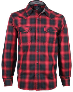 Cody James Men's Sky Plaid Long Sleeve Shirt, , hi-res