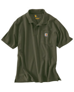 Carhartt Contractor's Work Pocket Polo Shirt, , hi-res