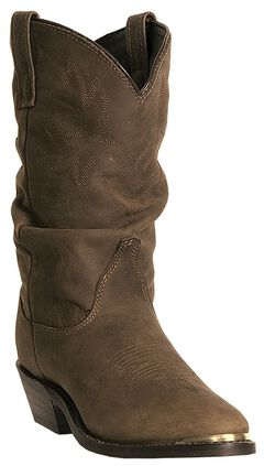 Dingo Marlee Slouch Cowgirl Boots - Round Toe, , hi-res