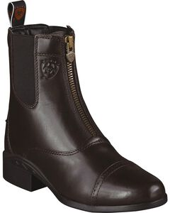 Ariat Heritage Zipper Paddock Riding Boots - Round Toe, , hi-res