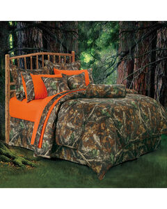 HiEnd Accents Realtree Camo Full Size Comforter Set, , hi-res