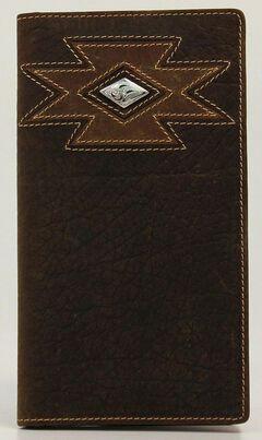 Ariat Diamond Cross Concho Rodeo Wallet, , hi-res
