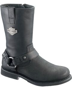 Harley Davidson Josh Harness Boots - Round Toe, , hi-res