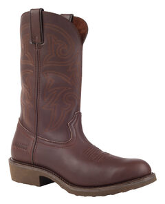 Durango Farm and Ranch Brown Western Boots - Round Toe, , hi-res