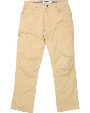 Mountain Khakis Men's Yellow Camber 107 Classic Fit Khakis - Straight Leg , Yellow, hi-res