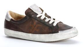 Frye Women's Dylan Low Lace Sneakers, Dark Brown, hi-res