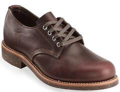 Chippewa Men's Anaflex Cordovan General Utility Service Shoes, , hi-res