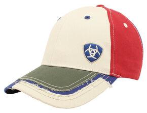 Ariat Men's Patchwork Cap, Multi, hi-res