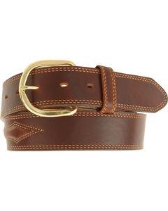 Padded Leather Belt - Reg & Big, , hi-res