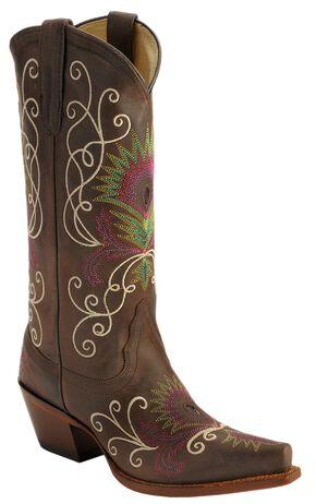 Tony Lama Vaquero Vail Cowgirl Boots - Snip Toe, , hi-res