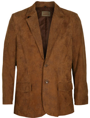 Cody James Men's Brown Blazer , Brown, hi-res