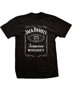 Jack Daniels Men's Black Label T-Shirt - Big , Black, hi-res