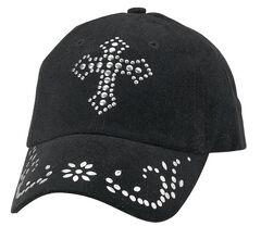 Studded Cross Cap, , hi-res