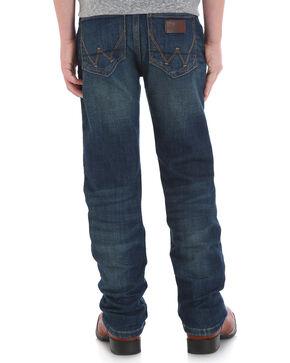 Wrangler Retro Boys' (1-7) Slim Stretch Jeans - Straight, Blue, hi-res