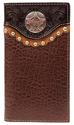 PBR Round PBR Concho Rodeo Wallet, , hi-res