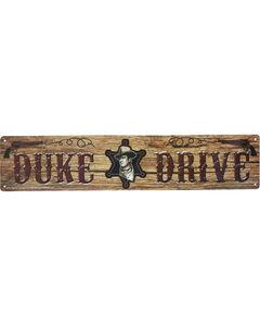 Mid-South Products John Wayne Sheriff's Badge Street Sign, , hi-res