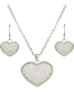 Montana Silversmiths Star Lights, Heart Bright Jewelry Set, , hi-res