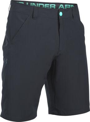 Under Armour Men's Black Surf & Turf Amphibious Board Shorts, Black, hi-res