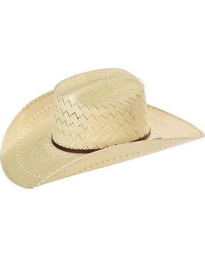 Resistol Men's Tate Promo Straw Hat , Tan, hi-res