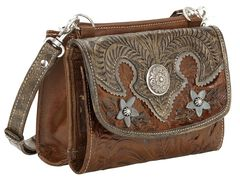 American West Desert Wildflower Crossbody Bag, , hi-res