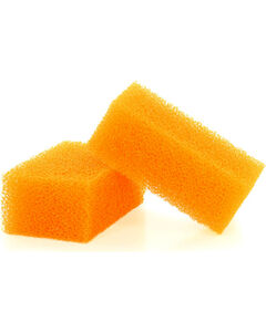 BB Ranch Hat Cleaning Sponges for Felt Hats, Orange, hi-res
