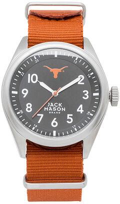 Jack Mason University of Texas Nato Solid Strap Watch , , hi-res