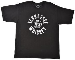 Jack Daniel's Men's Tennesee Whiskey Short Sleeve T-Shirt, Black, hi-res