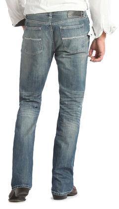Rock and Roll Cowboy Pistol Regular Fit Medium Wash Jeans - Straight Leg  , , hi-res