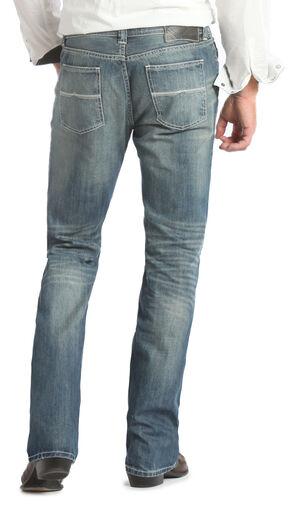 Rock and Roll Cowboy Pistol Regular Fit Medium Wash Jeans - Straight Leg  , Med Wash, hi-res
