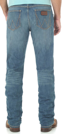 Wrangler Retro® Men's Blue Slim Huntsville Jeans - Straight Leg, , hi-res