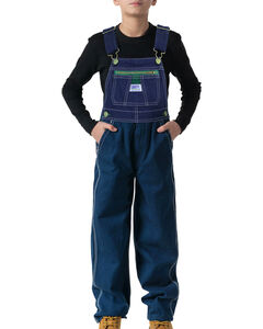 Walls Boys' Liberty Denim Bib Overalls, , hi-res