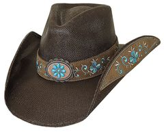 Bullhide Forever Young Bangora Straw Cowgirl Hat, , hi-res