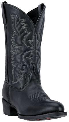 Laredo Birchwood Cowboy Boots - Round Toe , , hi-res