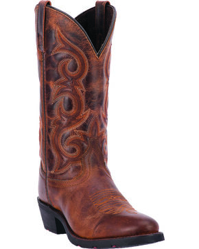 Laredo Women's Frankie Cowgirl Boots - Round Toe, Rust, hi-res