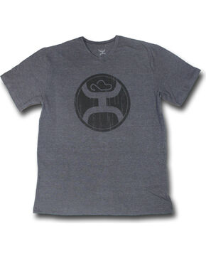 Hooey Men's 2.0 Short Sleeve Logo T-Shirt , Grey, hi-res