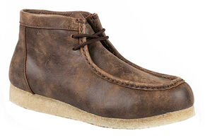 Roper Men's Gum Sole Chukka Shoes, Tan, hi-res