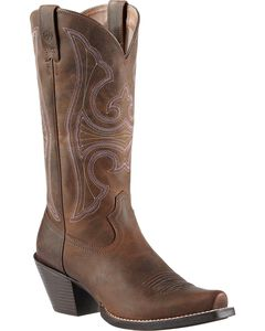 Ariat Roundup Cowgirl Boots - Snip Toe, , hi-res
