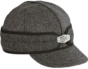 Stormy Kromer Men's Hardware Original Cap, Charcoal Grey, hi-res