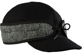 Stormy Kromer Men's Black Herringbone Original Cap, Multi, hi-res