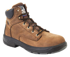 Georgia Flxpoint Waterproof Work Boots - Round Toe, , hi-res