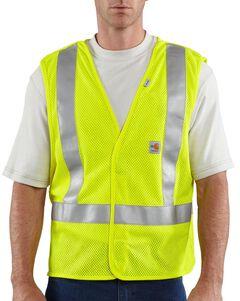 Carhartt Flame Resistant Hi-Visibilty Breakaway Vest - Big & Tall, , hi-res