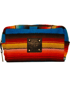 STS Ranchwear Women's Bebe Serape Cosmetic Bag, Multi, hi-res