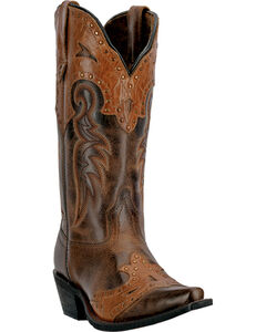 Laredo Ramona Cowgirl Boots - Snip Toe, , hi-res