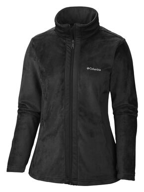 Columbia Women's Hotdots II Full Zip Fleece Jacket, Black, hi-res
