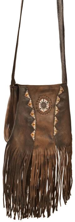 Kobler Leather Tan Shoulder Bag, , hi-res