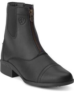 Ariat Women's Scout Paddock Zip Boots, , hi-res