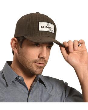 Cinch Men's FLEXFIT® Cap , Black, hi-res