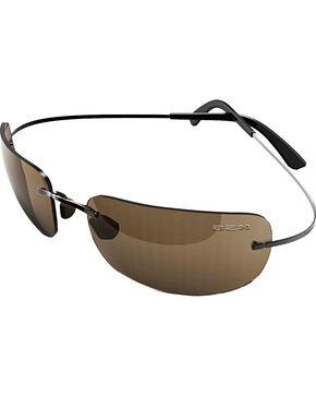 Bex Men's Salerio II Polarized Black/Brown Sunglasses, Brown, hi-res