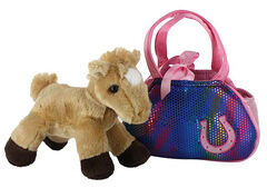 Aurora Girls' Betsey Bling Horse and Purse , , hi-res